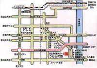 流杉老人ホームアクセスマップ