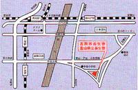 長生寮 アクセスマップ