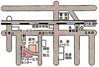 新川ヴィーラアクセスマップ